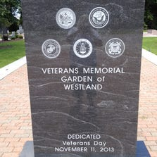 The annual POW\MIA remembrance ceremony will be held at the Veterans Memorial Garden of Westland Friday.