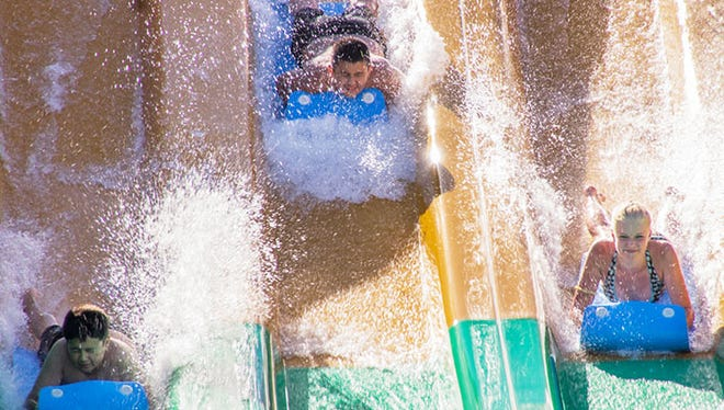 Wild Island Family Adventure Park Zulu ride. Park opens May 14 for the first time in 2016.