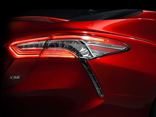 The 2018 Toyota Camry will be revealed in Detroit at