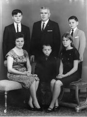 """Lydia Zakrewsky is the subject of the documentary """"Lydia's Story"""" being premiered at the New Jersey Film Festival on Sunday. (Back row from left to right) Len Zakrewsky, Peter Zakrewsky Sr. and Peter Zakrewsky Jr. (Front row left to right) Lydia Zakrewsky, Alex Zakrewsky and Lydia Barbely."""