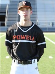 Junior Matt Grim, pitcher/outfielder
