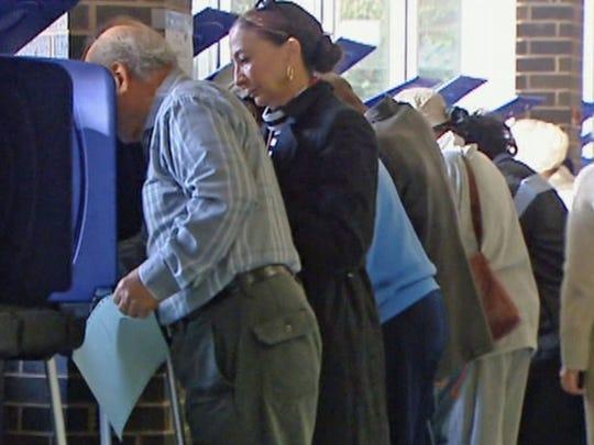 Texas voters | File photo