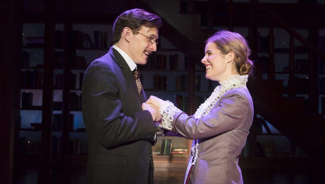 """In 2016, Ben Michael and Elise Vannerson starred in """"Daddy Long Legs"""" at George Street Playhouse in New Brunswick."""