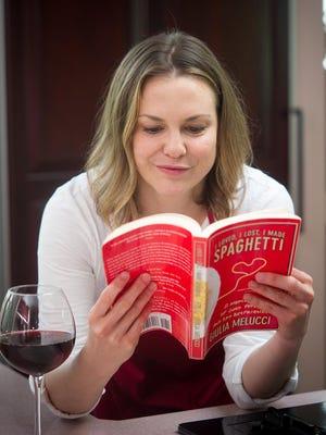 "Larisa Oleynik stars in ""I Loved, I Lost, I Made Spaghetti"" at Hangar Theatre in Ithaca."