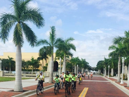 When on a group ride, remember you're on the roadway and need to act more like traffic… signaling, obeying red lights, at least acknowledging stop signs, etc.
