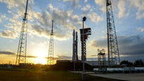 An Air Force missile warning satellite is set to catch a ride on an Atlas V rocket from Cape Canaveral to an orbit 22,000 miles above the equator.