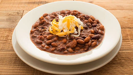 The homemade chili at Miracle Mile Deli in Phoenix..