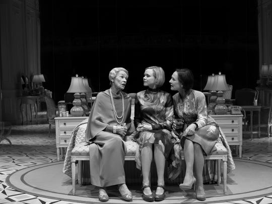 """Glenda Jackson, Alison Pill and Laurie Metcalf in Edward Albee's """"Three Tall Women."""""""