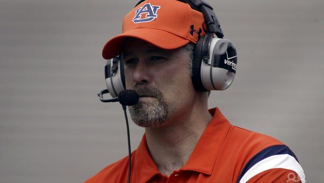 Former Auburn defensive coordinator Paul Rhoads has been named the new defensive backs coach at Arkansas on Feb. 24.