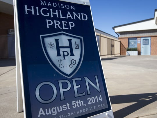 Madison Highland Prep high school opened on the campus of Madison Park Middle School in 2014.