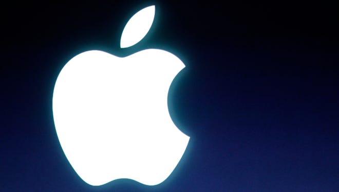 Apple's logo.