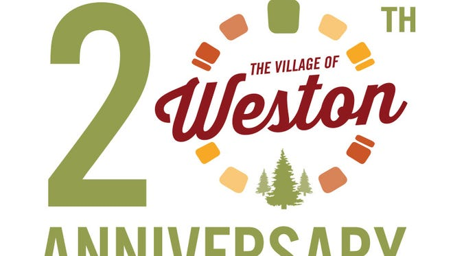 Weston's 20th anniversary logo.