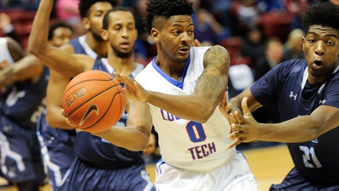 Louisiana Tech senior guard Alex Hamilton is fresh off earning Conference USA Player of the Year on Wednesday. He leads the Bulldogs into Thursday's C-USA quarterfinals against Old Dominion.