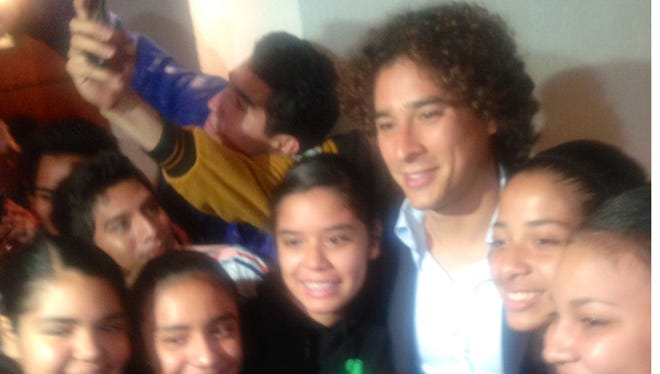 Guillermo Ochoa, arquero de la selección mexicana de futbol.