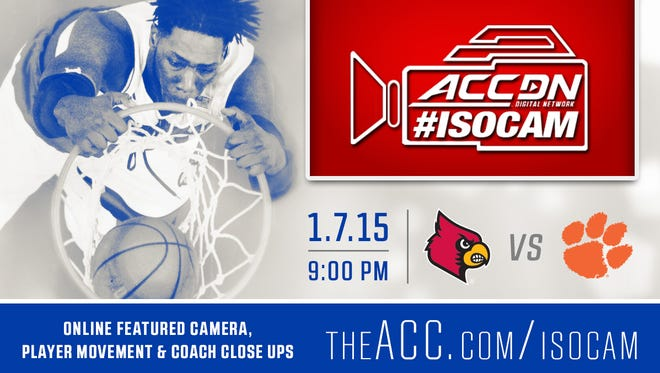 Montrezl Harrell will star on the ACC's ISOCAM on Wednesday.