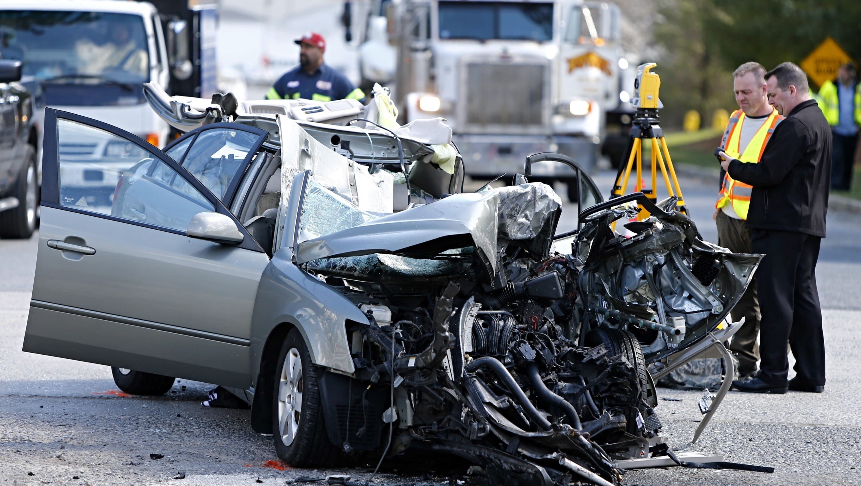 Serious accident on Shafto Road in Tinton Falls