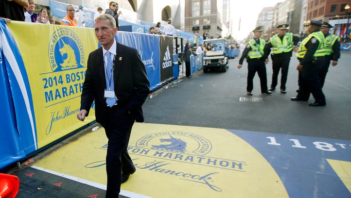 'Leave the worrying to us': Security ramped up for Boston Marathon