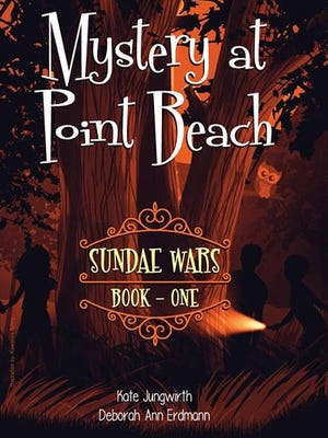 'Mystery at Point Beach' book cover
