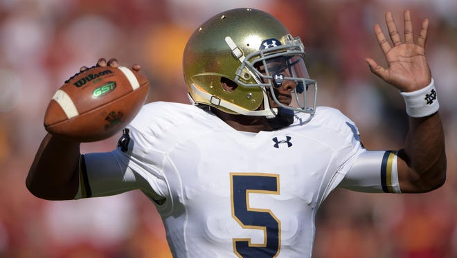 Notre Dame did not express any objections over Everett Golson's decision to utilize the NCAA graduate transfer rule, but that is not the case with many other schools.