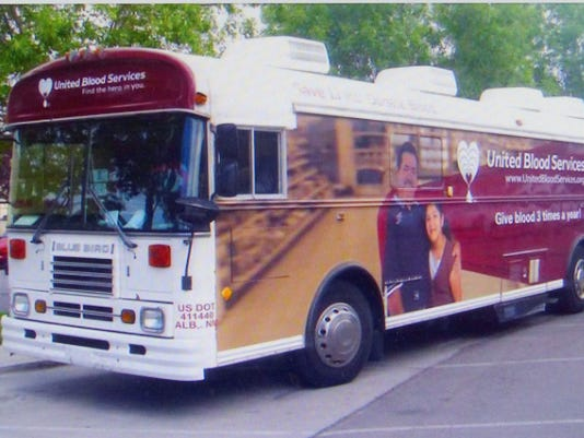 United Blood Services bloodmobile
