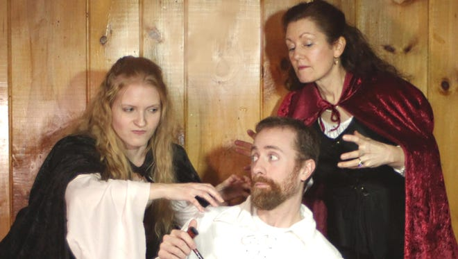 """Greta Volkova, Jeffrey Wahl and Suzanne Santer-Brigham star in the Southern Tier Actors Read production of """"The Midnight Court."""""""