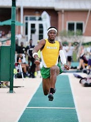 Franklin High School graduate Felix Obi has been enjoying success on the Baylor University track and field team. This photo is from his sophomore season. He is now a senior.