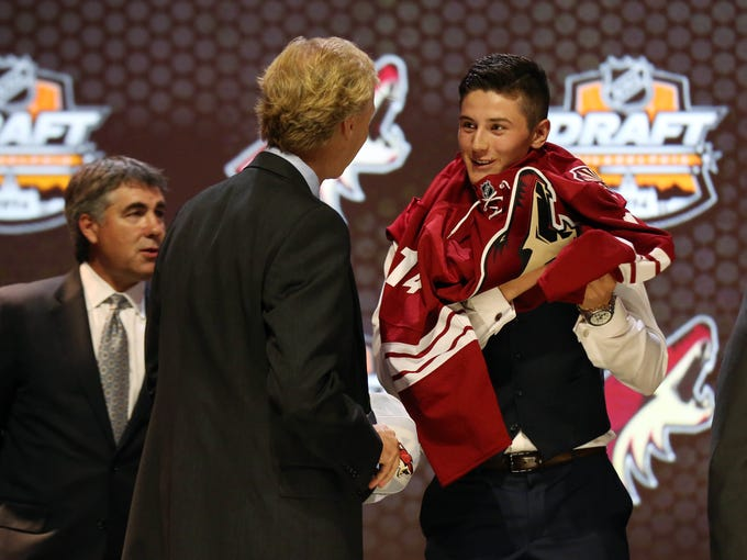 Take a look back at how the Arizona Coyotes first-round
