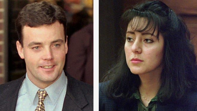 Virginia woman Lorena Bobbitt was put on trial in 1993 for cutting off the penis of her husband John, whom she says was physically and verbally abusive as well as adulterous.