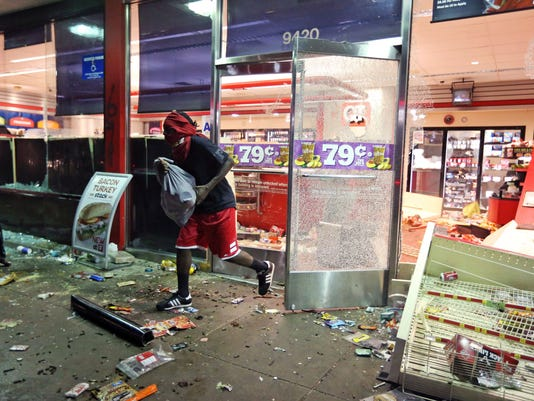 Missouri looting