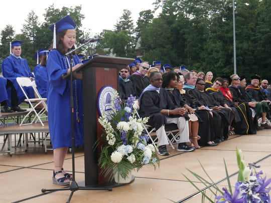 Poughkeepsie High School's 2018 valedictorian Rommi