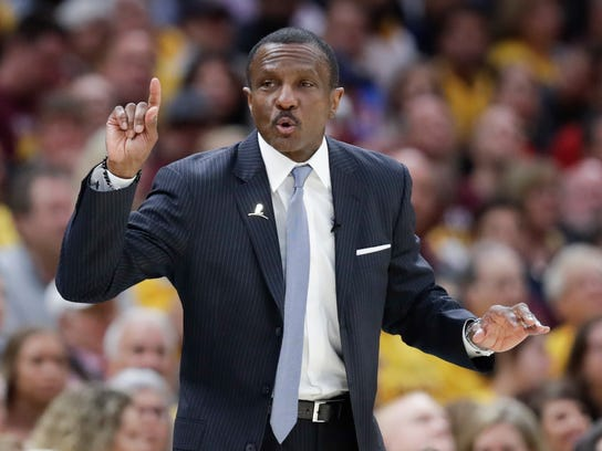 Dwane Casey led the Raptors to a franchise-best 59 wins this season.