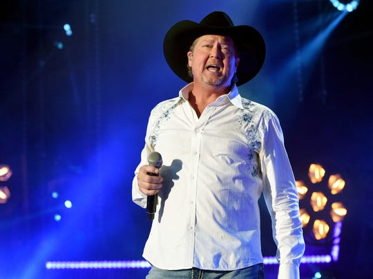 As his 1996 hit says, time marches on -- and so does Tracy Lawrence. The 50-year-old country singer will be in concert Oct. 18 at the Meyer Theatre.