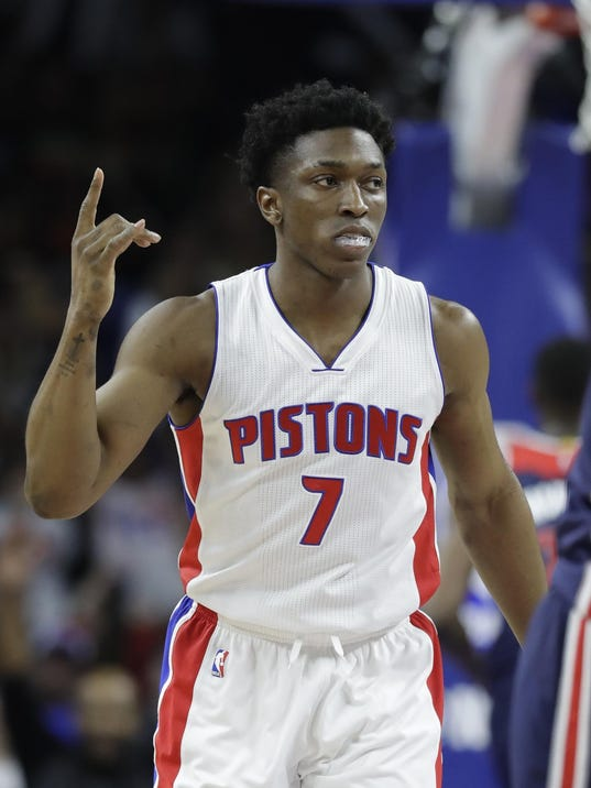 Reports: Stanley Johnson scores 86