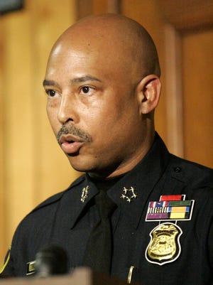Detroit Police Chief Ralph L. Godbee, Jr. in 2011.