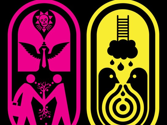 Contemporary artist Ryan McGinness will be creating