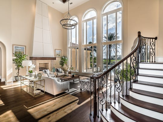 This Talis Park home once owned by PGA golfer Rocco Mediate up for estate auction through Elite Auctions.
