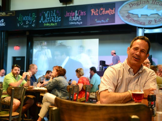 Sam Calagione, founder of Dogfish Head Craft Brewery