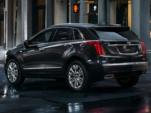 GM shows off XT5 crossover vehicle to replace SRX