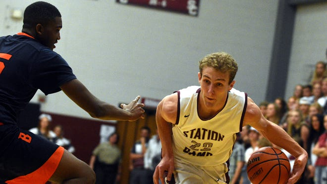 Station Camp senior Kody Eden scored 18 points in the Bison's 75-49 victory over Beech on Friday.