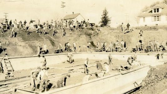 time capsule pool