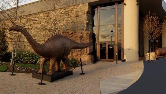 The Creation Museum in Petersburg, Kentucky