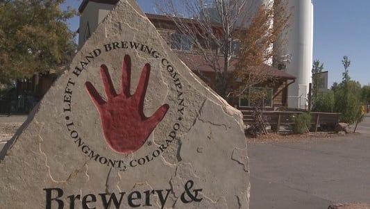 Left Hand Brewery in Longmont.