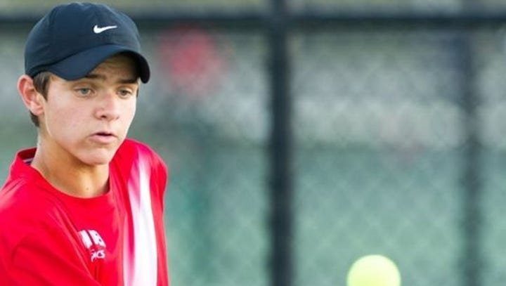 Mater Dei's Aaron Thompson concludes prep tennis career after loss in state semifinal