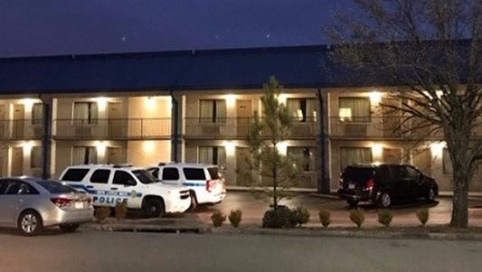 The Motel 8 where Jessee Arthur was found
