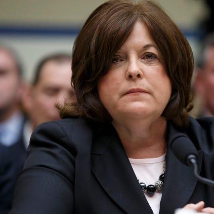 Secret Service Director Julia Pierson listens on Capitol Hill in Washington on Sept. 30, 2014.