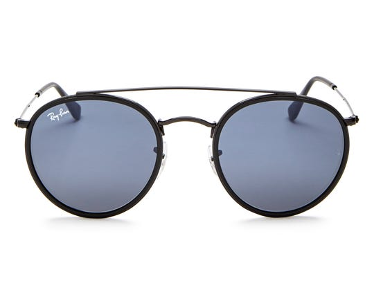 The round frames are classic and stately on these men's