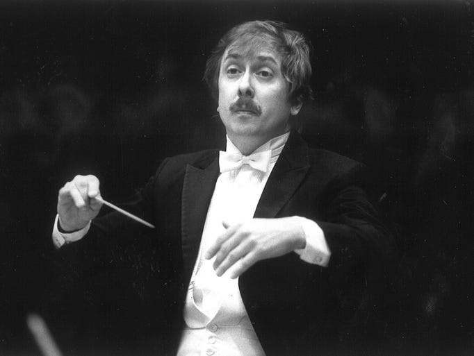 Gordon Johnson conducts the Great Falls Symphony, October