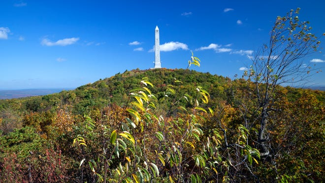 The High Point Monument at High Point State Park in Sussex.