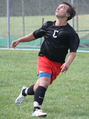 Cody Busam scored two goals in Colerain's 3-2 victory over Withrow Tuesday.