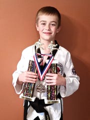 Isaac Witte recently participated in the 35th Annual Mid-Wisconsin Takewondo Championships in Wisconsin Rapids.